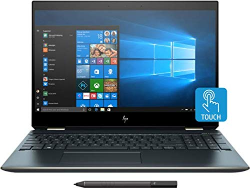 HP Spectre x360-13t Home and Business Laptop (Intel Core i7-8565U, 16GB RAM, 1TB PCIe SSD, 13.3' Touch 4K UHD (3840x2160), Intel UHD 620, Fingerprint, WiFi, Bluetooth, Webcam, Win 10 Home)