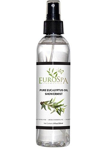 Eucalyptus Oil ShowerMist and Steam Room Spray - 8 Ounce