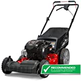 "Snapper 12AVB2A2707 21"" Self Propelled Gas Powered Mower with Side Discharge, Mulching, Rear Bag and Rear High Wheel, Dual-lever Height Adjustment with 6 Cutting Positions"