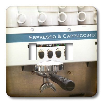 3dRose lsp_82604_2 - Interruptor doble para cafetera expreso (eu28 Pka0077 por Karlsson)