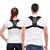 Posture Corrector for Men and Women - USA Designed Upper Back Brace for Clavicle Support and Providing Pain Relief from Neck, Back & Shoulder