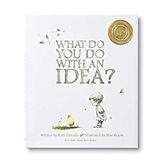 A New York Times Best Seller and award-winning book, What Do You Do With an Idea? is for anyone who's ever had a big idea.This is the story of one brilliant idea and the child who helps to bring it into the world. As the child's confidence grows, so ...