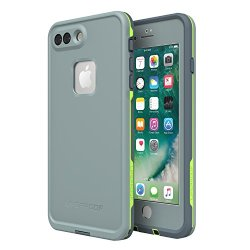 Lifeproof FRĒ SERIES Waterproof Case for iPhone 8 Plus & 7 Plus (ONLY) - Retail Packaging - DROP IN (ABYSS/LIME/STORMY WEATHER)