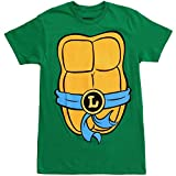 Teenage Mutant Ninja Turtles Adult Costume T-Shirt (Leonardo Blue, Large)