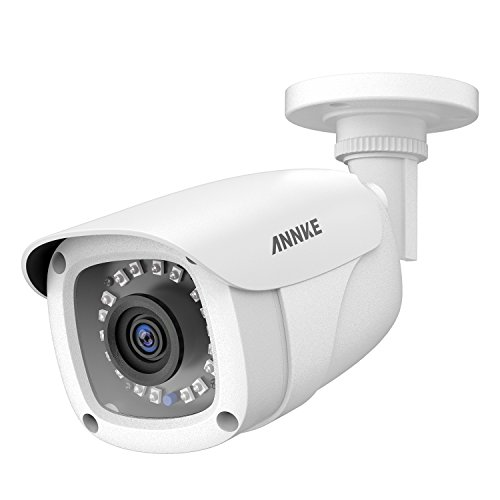ANNKE 1080P CCTV Home Surveillance Bullet Camera, Security Camera with IP66 Weatherproof and Dustproof for Outdoor Use