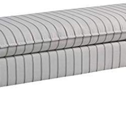 Ashley Furniture Signature Design – Arrowrock Accent Bench – Traditional – Light Beige