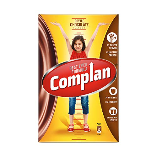 41RnVuW1ylL - Complan Nutrition and Health Drink Royale Chocolate, 750gm (Carton)