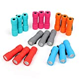 FASTPRO 18-Pack, 9-LED Mini Flashlight Set, 54-Pieces AAA Batteries are Included and Pre-Installed, Perfect For Class Teaching, Camping, Wedding Favor