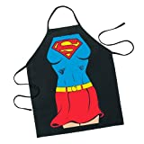 ICUP DC Comics - Supergirl Be The Character Adult Size 100% Cotton Adjustable Black Apron
