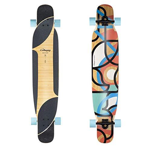 Loaded Boards Bhangra V2 Bamboo Longboard Skateboard Complete (77a 4 President, Flex 2)