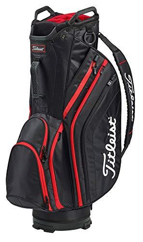 Titleist Lightweight Cart Bag Black/Black/Red
