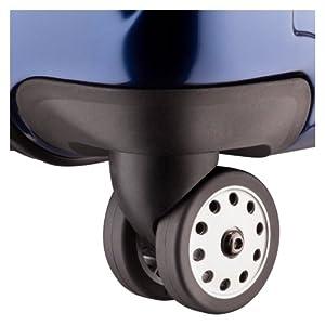 Dual spinner wheels