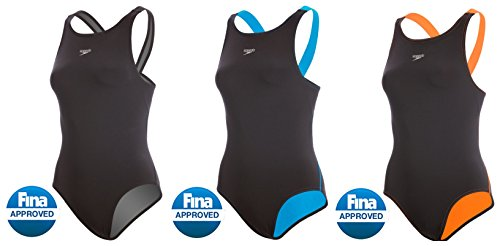 71RfuR%2Bo23L FINA Approved. New Comfort Strap reduces shoulder pressure. Fit engineered from body scan data resulting in an optimum biomechanic fit.