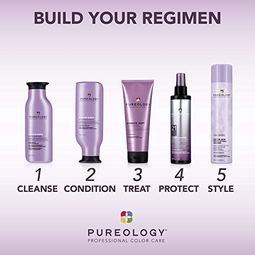 Pureology | Style + Protect On The Rise Root-Lifting Hair Mousse | Medium Control, All Day Volume | Vegan 6