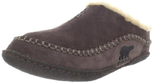 Sorel Men's Falcon Ridge Slippers, Marsh, Tan, 10 M US