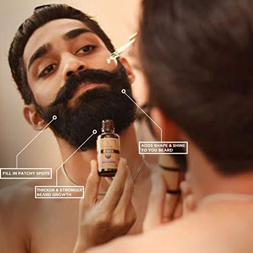 Spruce Shave Club Beard Oil For Beard Growth (30ml) - Cedarwood & Mandarin - 9 Natural Oils For Beard Growth 19