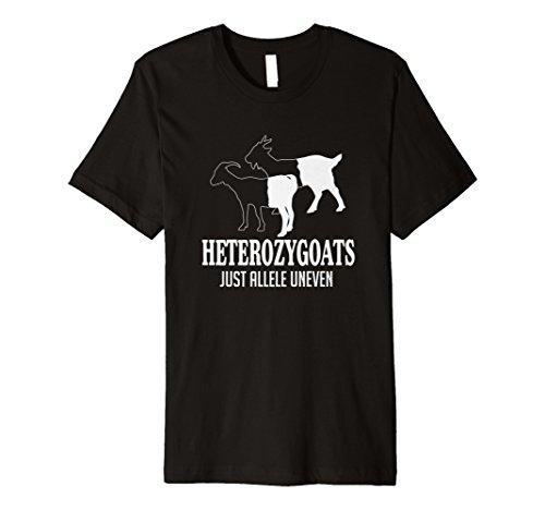 Heterozygoats Just Allele Uneven Funny Genetics T-Shirt
