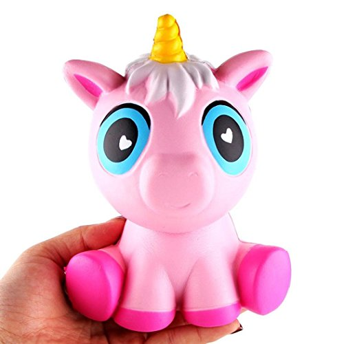 "Rare Kawaii Jumbo 6"" Slow Rising Unicorn Squishy by Zurilee 