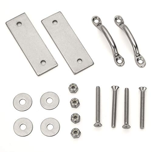 RecPro Marine LHW-LAK | Boat Dock Ladder Hardware Attachment Kit | AL-A3 AL-A4 AL-A5 & AL-C4 Boat and Dock Ladders