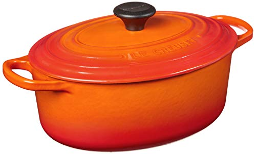 Le Creuset Enameled Cast Iron Oval Dutch Oven