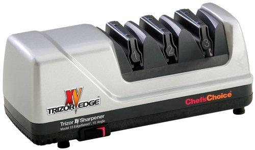 Chef's Choice 15 Trizor XV EdgeSelect Electric Knife Sharpener, Platinum