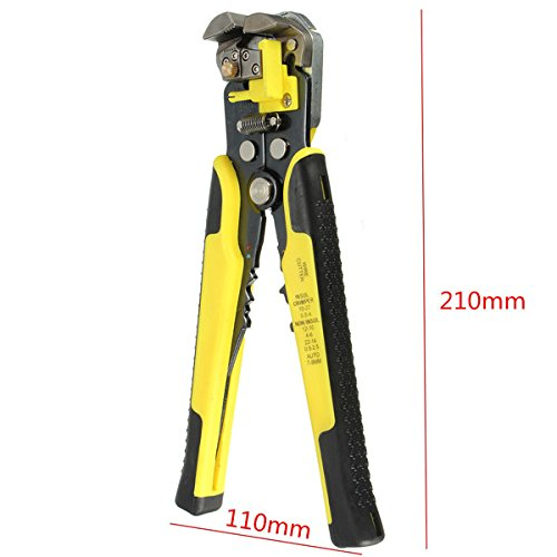 Self-Adjusting Automatic Cable Cutter Crimper with 5 in 1 Multi function Wire Stripping Cutting Pliers