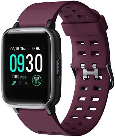 Willful Smart Watch for Android Phones Compatible iPhone Samsung IP68 Swimming Waterproof Smartwatch Sports Watch Fitness Tracker Heart Rate Monitor Digital Watch Smart Watches for Men Women Purple 3