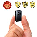 Spy Camera no WiFi Needed - Hidden Camera Motion Activated - Mini Body Camera - Nanny Hidden Small Wireless Cameras - Tiny Spy Cam - Spy Hidden Cameras for Home - Easy to Use Portable Hidden Recorder