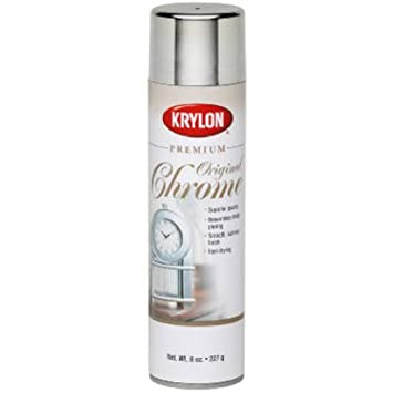 Krylon 1010a Premium Metalic Original Chrome 8 Ounce