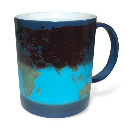 Thumbs Up - Taza de química, día y noche, Azul/Blanco, Estándar, 1