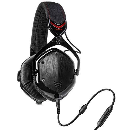 V-MODA, Audífonos con Aislamiento de sonido Over-ear Negro, M-100-U-SHADOW