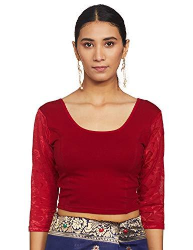 TINSIE Women Cotton 3/4 Sleeve Choli