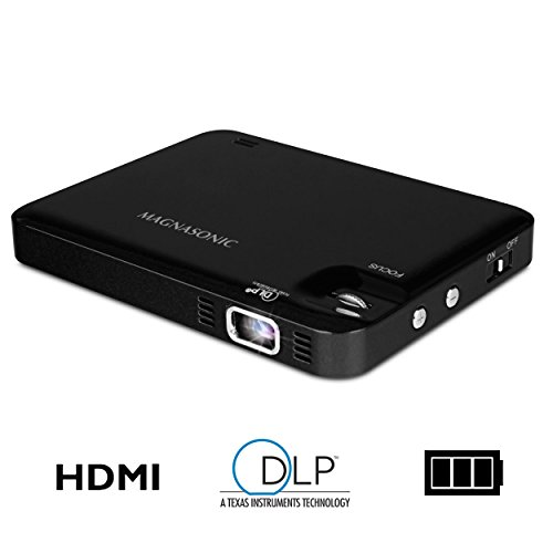 Magnasonic LED Pocket Pico Video Projector, HDMI,...