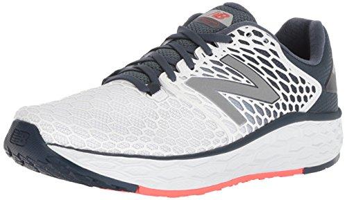 New Balance Men's Vongo V3 Fresh Foam Running Shoe, White, 8.5 D US