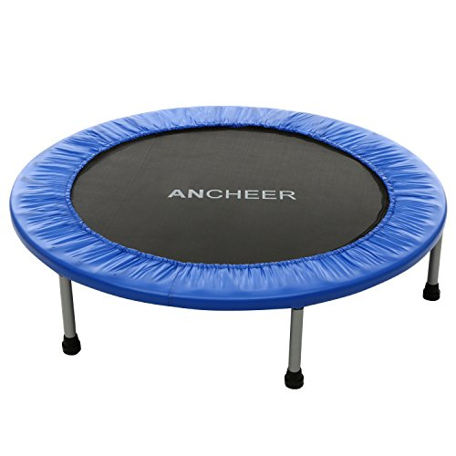 Ancheer Foldable Trampolin 38 inch Adult Exercise Rebounder Trampolin for Home&Outdoor