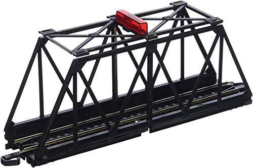 Bachmann-Trains-E-Z-TRACK-TRUSS-BRIDGE-with-BLINKING-LIGHT-HO-Scale