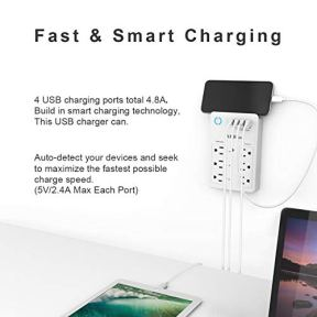 Smart-Plug-USB-Wall-Charger-AHRISE-WiFi-Surge-Protector-with-4-USB-Ports48A24W-Total-6-Outlet-Extender3-Smart-Outlets-Compatible-with-Alexa-Google-Assistant-for-Voice-Control