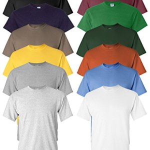 Gildan Men's Heavy Cotton T-Shirt ( 12 Pack ) 13 Fashion Online Shop Gifts for her Gifts for him womens full figure