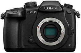 Panasonic Lumix G DC-GH5 20MP 4K Mirrorless Camera (Black) Body Only