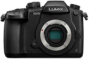 Panasonic Lumix G DC-GH5 20MP 4K Mirrorless Camera (Black) Body Only