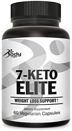 Body Vigor 7-Keto Elite, 7-Keto DHEA Supplement with Green Tea Extract and Chromium, 60 Vegetarian Capsules 3