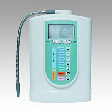 Alkaline Water Ionizer Combo, 2 Heavy Metal Tests, 4 Levels of Alkaline Water, One Purified Water, & 2 Levels of Acid Water. 5 Titanium Plates, Better Than Kangen