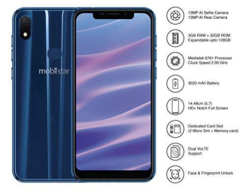Mobiistar X1 Notch Sapphire Blue (3GB+32GB) 1