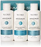 Amazonliss Keratin Smoothing Treatment Hair Straightening Set 2.03 fl.oz - Natural Ingredients - Smooths, Strengthens, Softens, Moisturizers, Adds Shine, Reduces Frizz - 1 Application