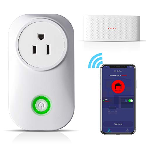 TAOPE Smart WiFi Garage Door Opener Remote Controller Compatible with Amazon Alexa Google Home IFTTT, No Hub Needed