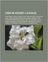 1995 in Rugby League: 1995 Arl Season, 1995 Rugby League