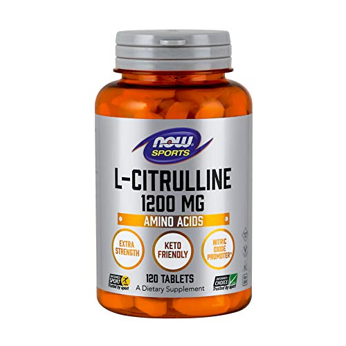 NOW L-Citrulline, 1200 mg, 120 Tabs