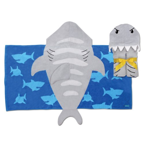Hooded Towel, Shark
