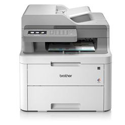 Brother DCP-L3550CDW Colour Laser Printer, Wireless and PC Connected, Print, Copy, Scan and 2 Sided Printing, A4
