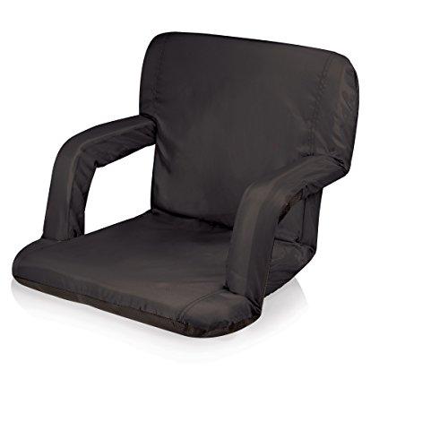 ONIVA - a Picnic Time Brand Ventura Reclining Stadium Seat, Black